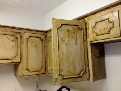 EcoFriendly Cabinet Stripping a Daunting Process