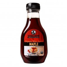 Wholesome Sweeteners Organic Blue Agave Maple Syrup 有機龍舌蘭楓葉糖漿