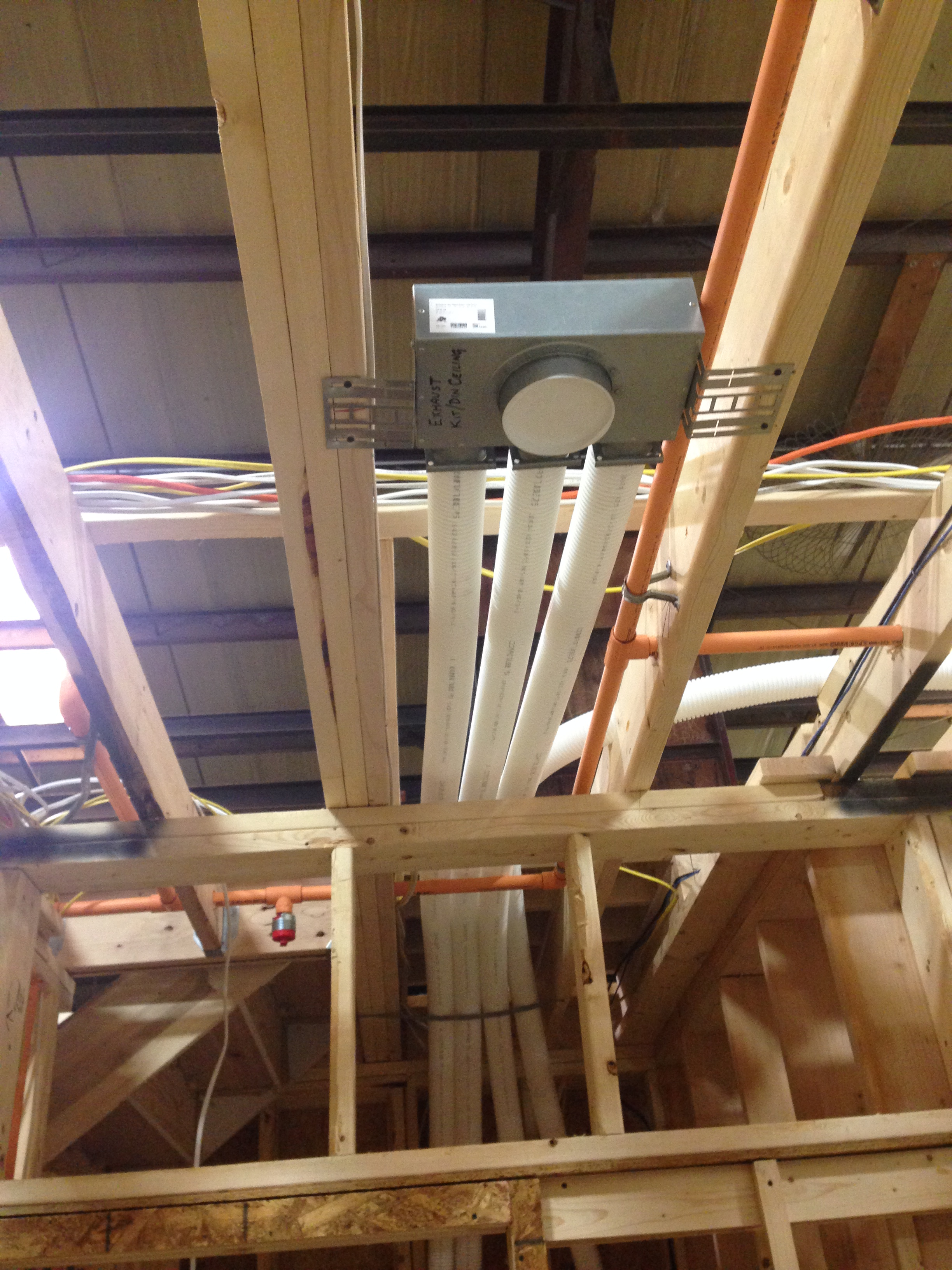 Peabody Architect Firm The mechanical system at the