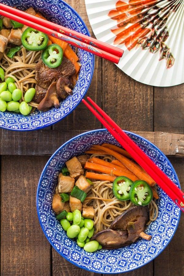 Mahi Soba Noodle Stir-Fry 2