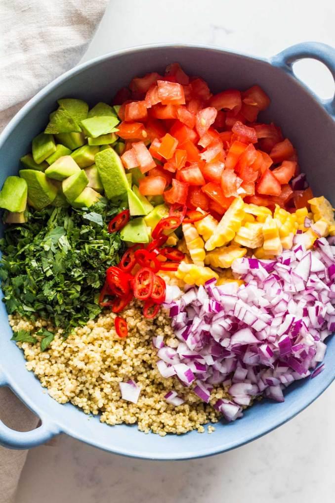 Mexican Quinoa Salad - Green Healthy Cooking