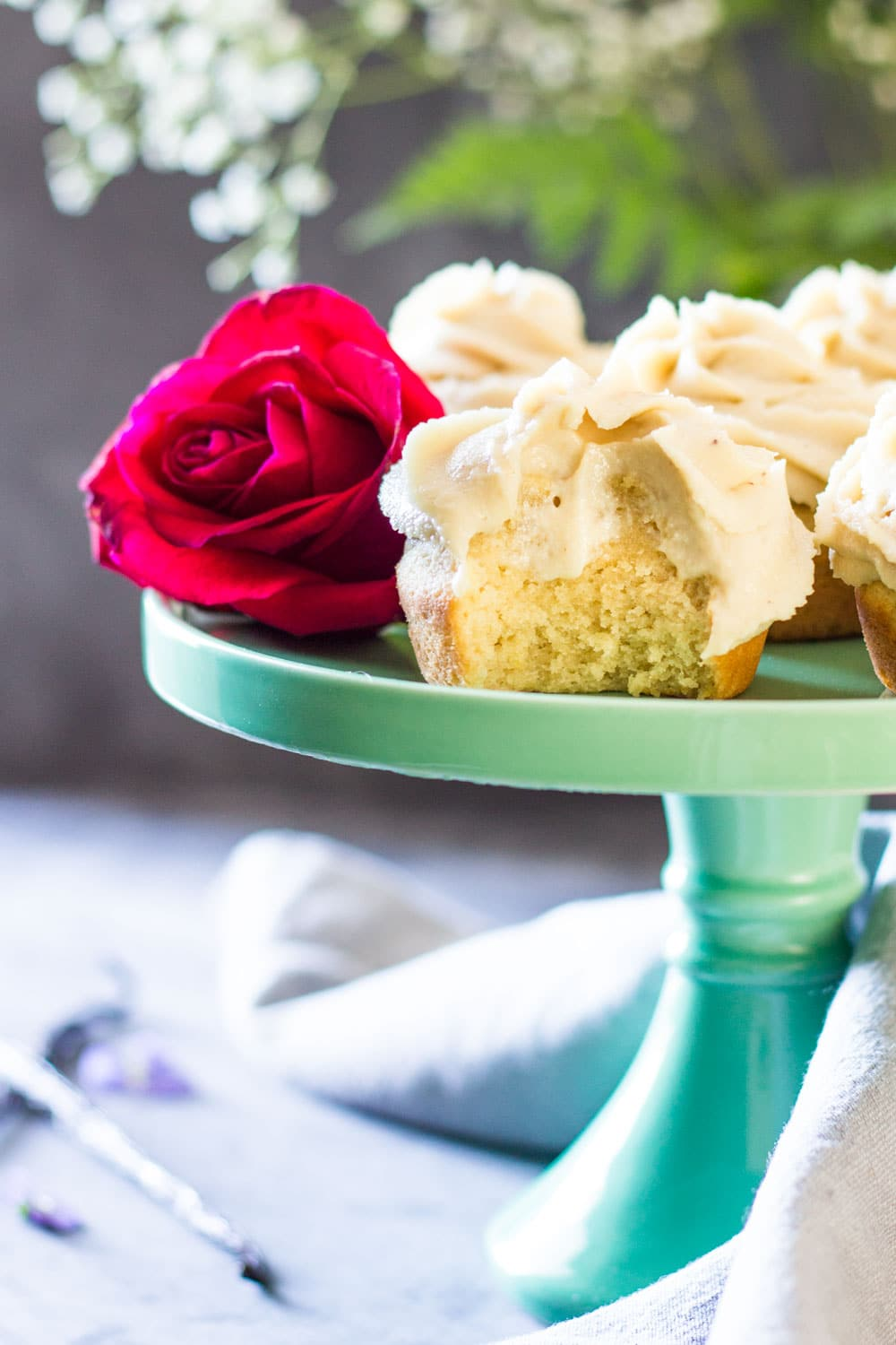 Which also looks amazing by the way if you're looking for yet another gluten-free cupcake recipe that tastes amazing :)