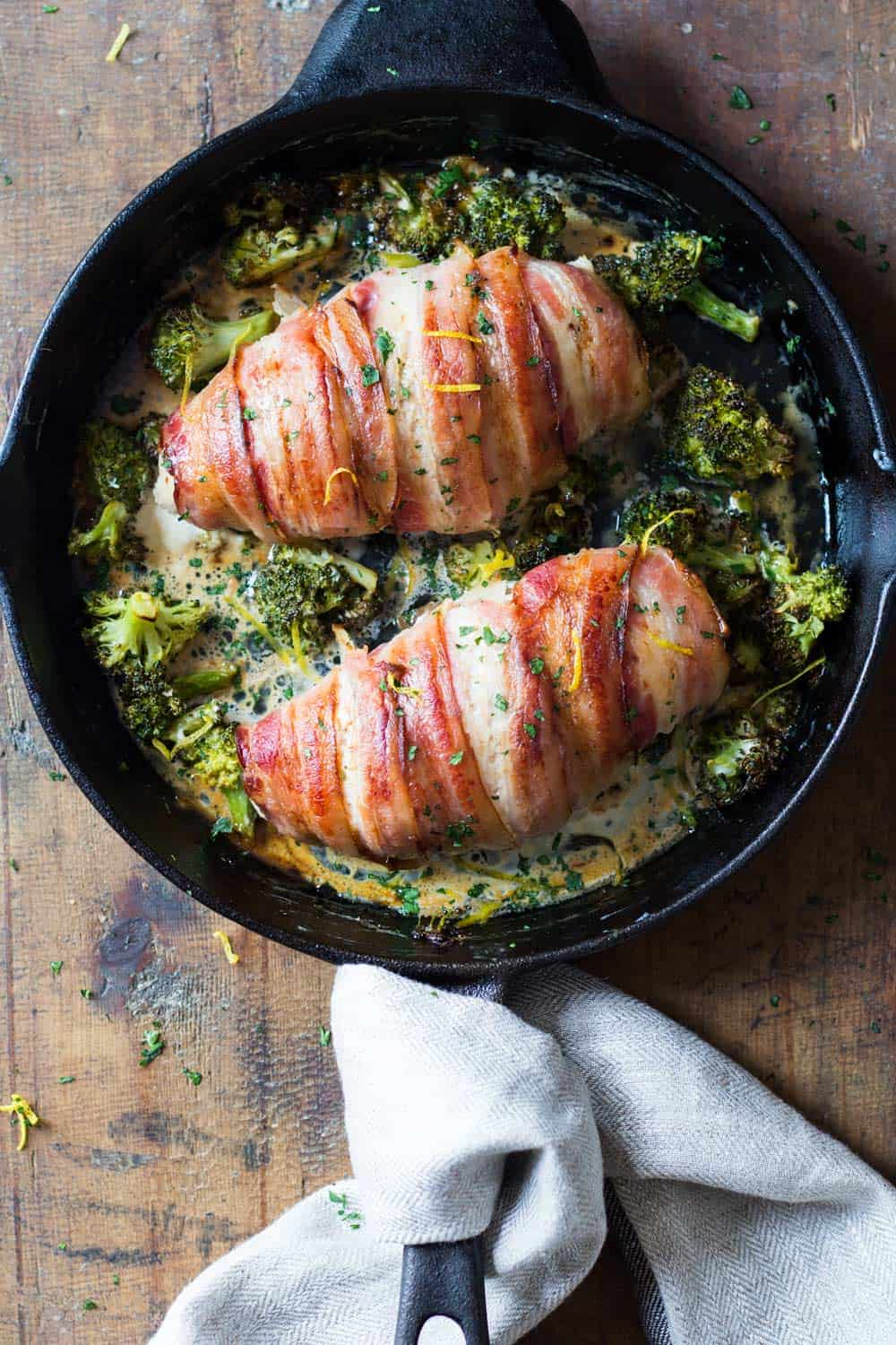 Just thinking about this Bacon Wrapped Chicken Breast produces an angelical ahhhh and floods everything in font of my eyes in bright light.