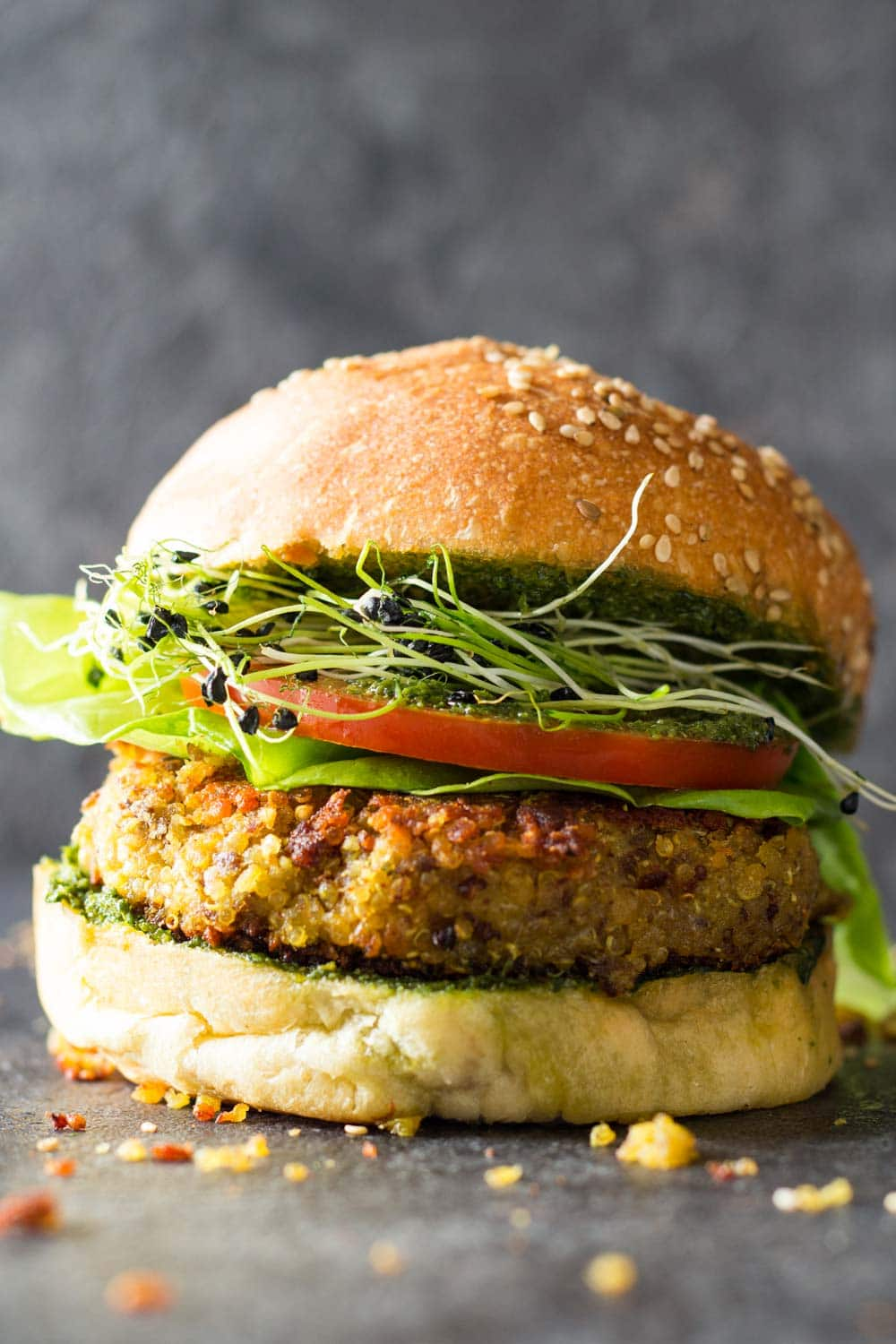 30 minute quinoa burger green healthy cooking