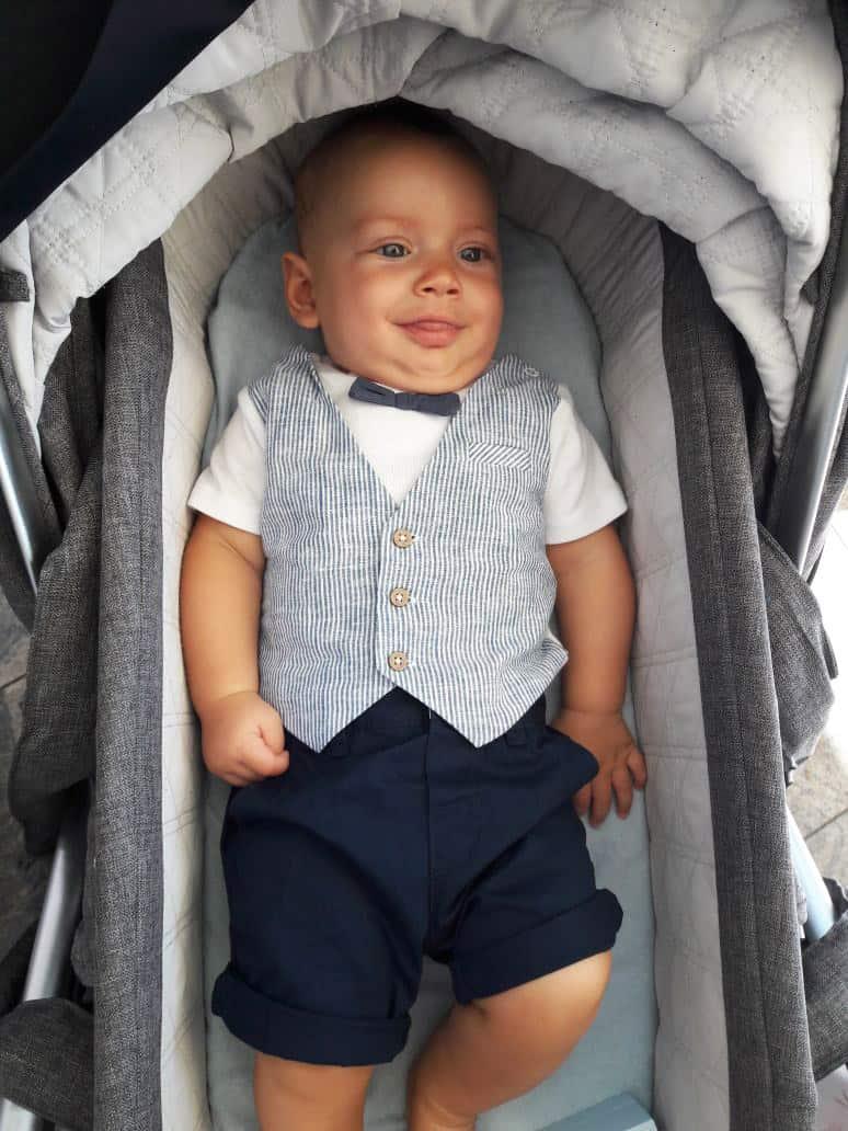 My Nephew's Baptism: Milo