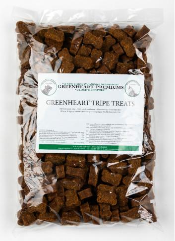 Greenheart Tripe Snacks 1 kg