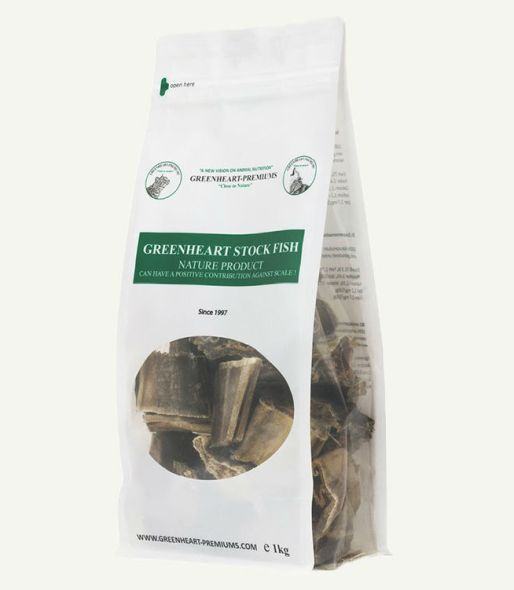 Stock Fish Greenheart Premiums antisarro perros