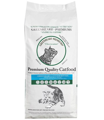 Greenheart Catfood Kitten