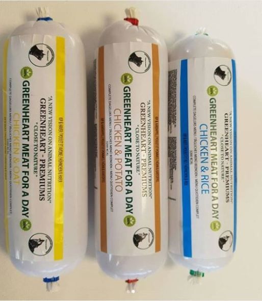 Salchichas para perros Meat for a Day Greenheart