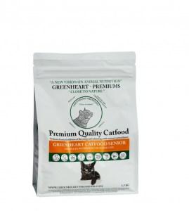 Greenheart Catfood Senior 1.5 kg