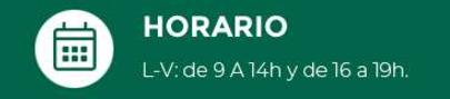 HORARIO GREENHEART ESPAÑA
