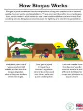 How biogas works