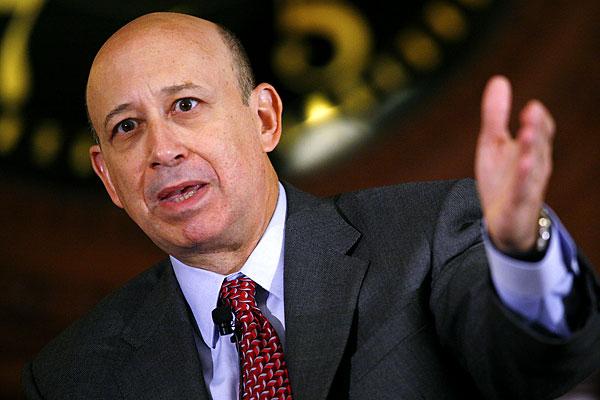 Lloyd Blankfein, Goldman Sachs Chairman