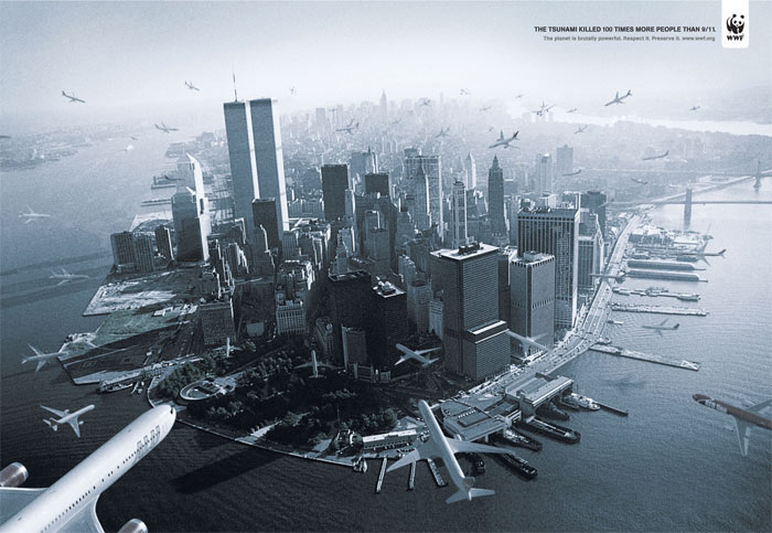 WWF-ad-comparing-911--and--Tsunami