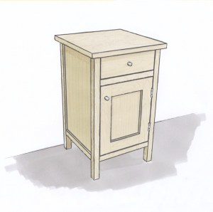 Side table colour visual