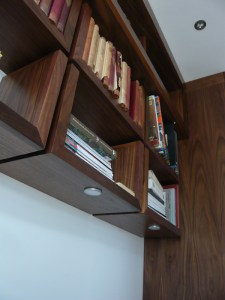 Shelving unit detailing