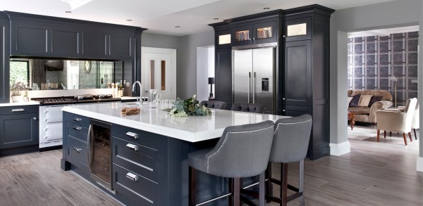 modern classic kitchen design Greenhill Kitchens, County Tyrone, Northern Ireland » Modern Classic Painted Kitchens