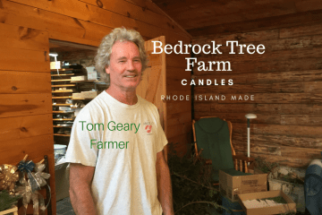 Ann Manion from Green Hill Rocks interviews Tom Geary of Bedrock Tree Farm to discuss his exploding soy candle making business.