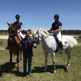 levin family greenhills equine