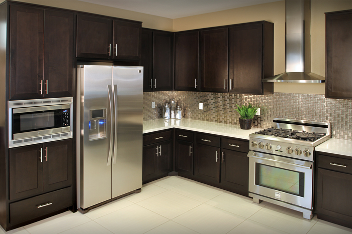 Courier Place apartment kitchens are furnished with ENERGY STAR® refrigerators, dishwashers, and microwaves as well as energy efficient lighting.