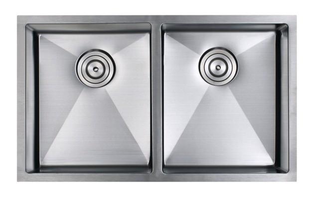 Amerisink Stainless Steel Double Basin Sink