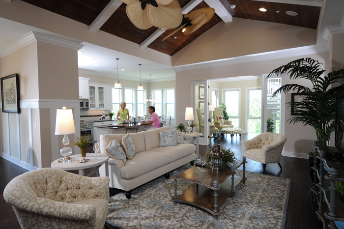 The myriad of luxurious amenities Harbour Isle offers, paired with low-maintenance living, make these homes ideal for retirees or baby boomers looking for a place to just enjoy.
