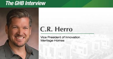 The GHB Interview; C.R. Herro, Vice President of Innovation, Meritage Homes