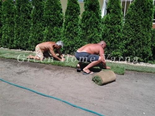 Направа на тревен чим от Органик солюшън