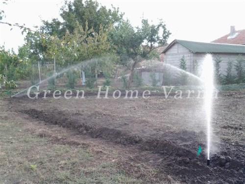 Поливна система и озеленяване в Шабла (1)