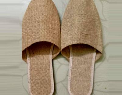Jute Floor Shoe