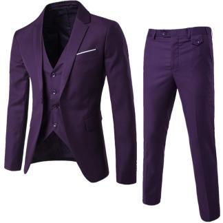 Jacket+Pant+Vest Suit