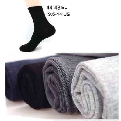5 Pairs Cotton Socks Big Size