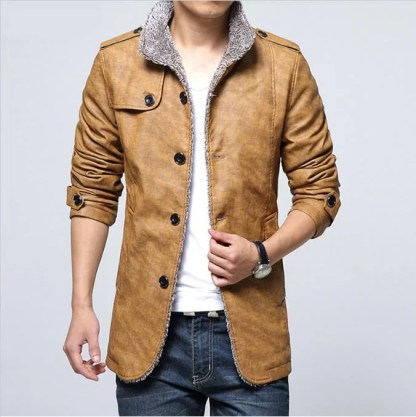 Casual Inner Cotton Jacket (3 Colors)