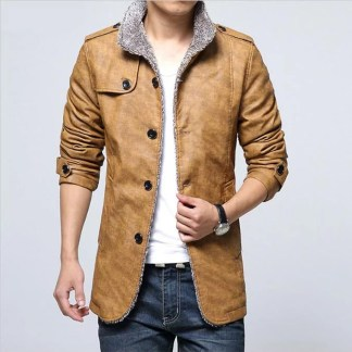Casual Inner Cotton Jacket (Yellow)
