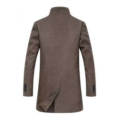 Long Wool Coat Available in 2 Colors