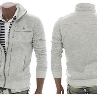 Slim Sweatshirt (White)