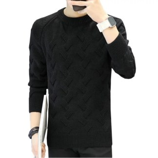 Solid Sweater black