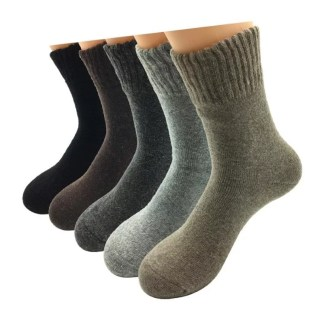 Thick Wool Socks (5 Colors )