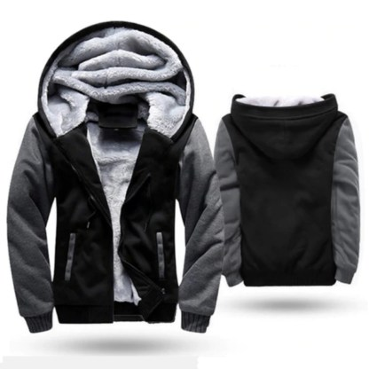 Fleece Bomber Jacket black-wo2