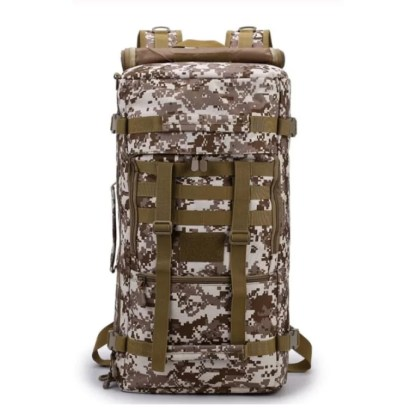 Tactical Travel Backpack available in 3 colors Camouflage