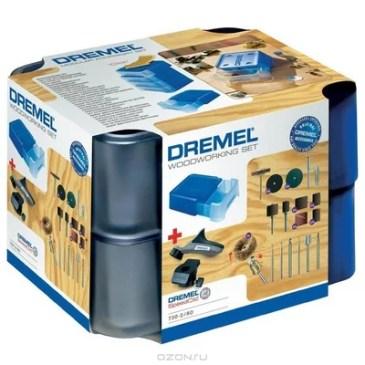 Dremel MAS 730 набор насадок для обработки древесины (26150730JA)