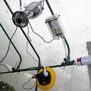 How to keep a Greenhouse cool in the desert or Hot Summer?