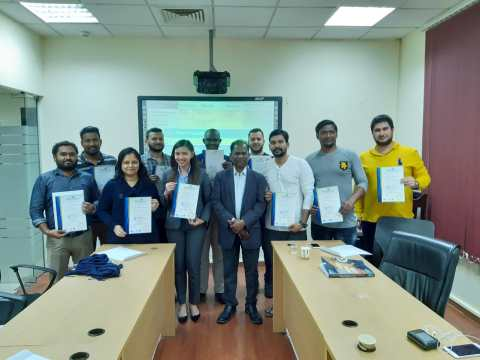 PMP Certification Training Qatar Completion on 09 Dec 2019