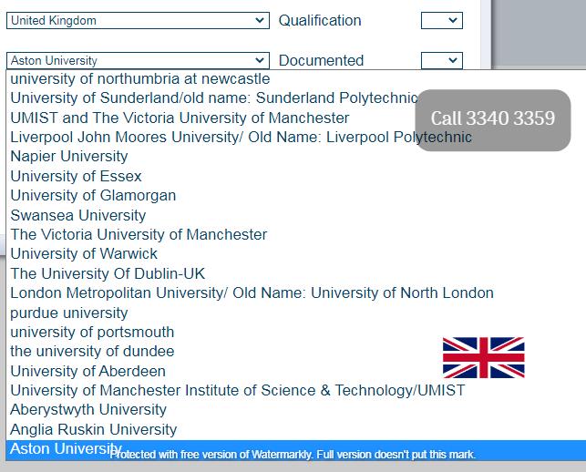QATAR UPDA/MMUP/MME APPROVED UNIVERSITIES LIST JUNE 2021