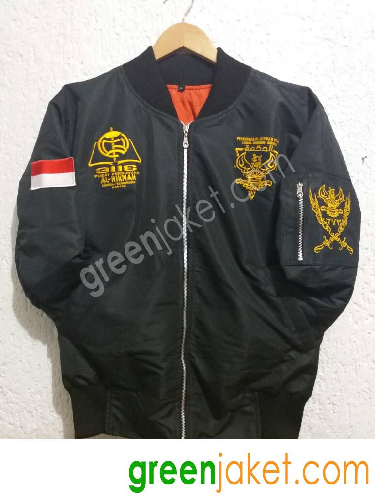 Jaket Bomber Ponpres Al Hikmah Pusat 3