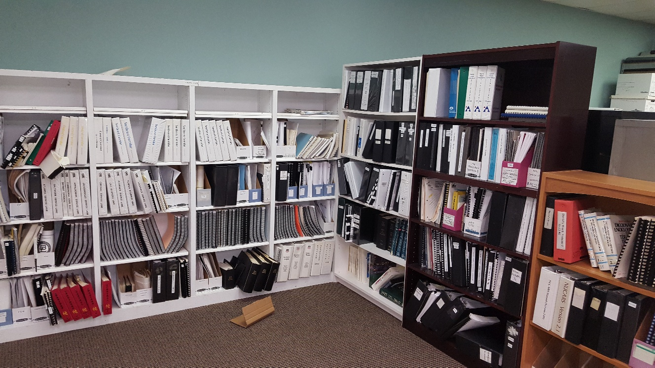 office shelves removal