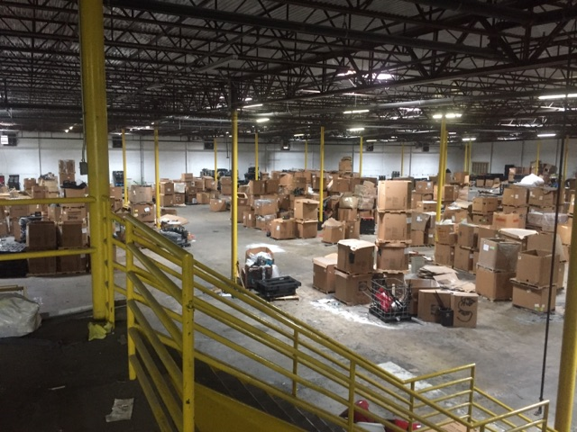 warehouse junk removal