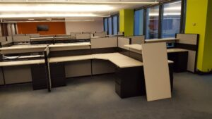 office cubicle workstation removal in sandy springs ga