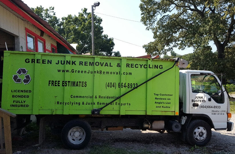 removing junk from businesses throughout Chamblee