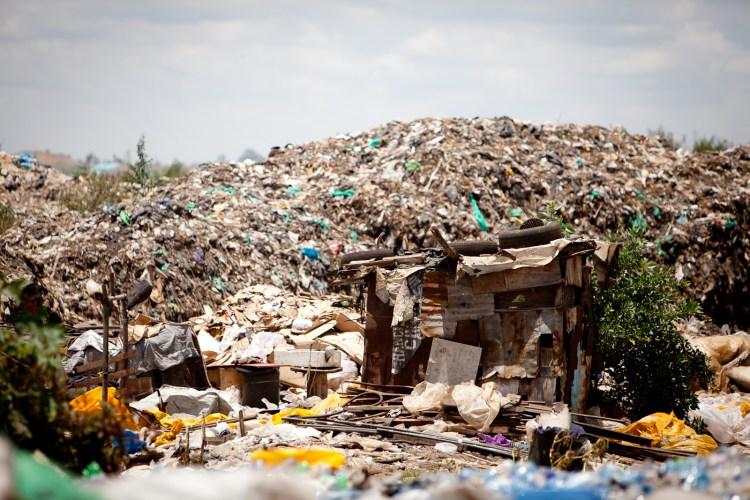Korogocho slums in Nairobi, Kenya